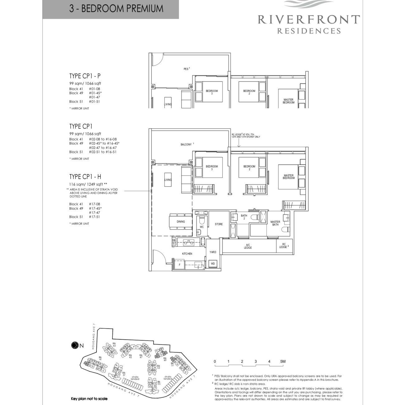riverfront-residences-floorplan-3bedroom- premium-cp1