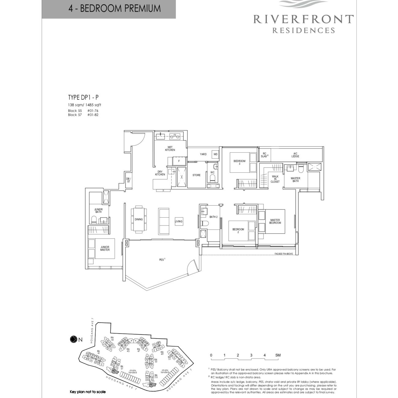 riverfront-residences-floorplan-4bedroom-premium-dp1